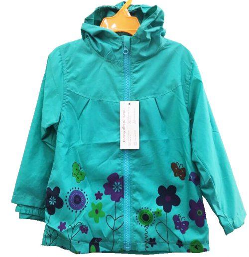 áo khoác gió trẻ em bé gái