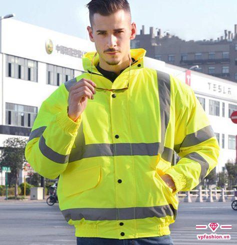 áo khoác gió phản quang