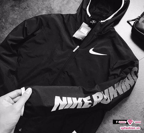 Áo khoác gió nam Nike running