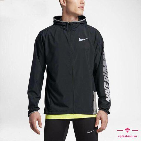 Áo khoác gió nam Nike running kiểu dáng thể thao