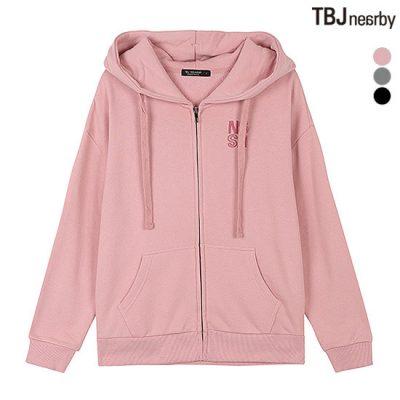 áo khoác nữ hoodie có mũ màu hồng