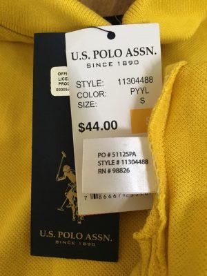 Tem của áo Polo chính hãng dễ hiểu, đầy đủ