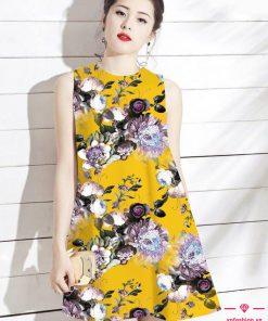 Váy suông chữ A họa tiết xinh gợi cảm