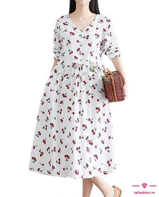 Váy bầu maxi công sở cho cô nàng đang mang bầu