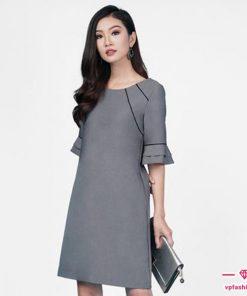 Mẫu váy suông thời trang công sở đẹp