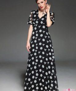 váy maxi dự tiệc của quý bà