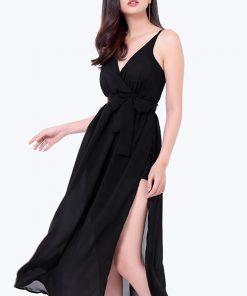 Váy maxi 2 dây xẻ tà cuốn hút, sexy