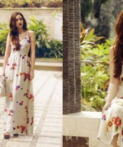 Váy maxi hoa đẹp