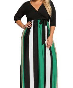 Dáng thon gọn, quyến rũ hơn với mẫu váy maxi cho người béo