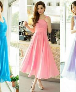 Váy maxi đẹp quyến rũ cho nàng chân ngắn