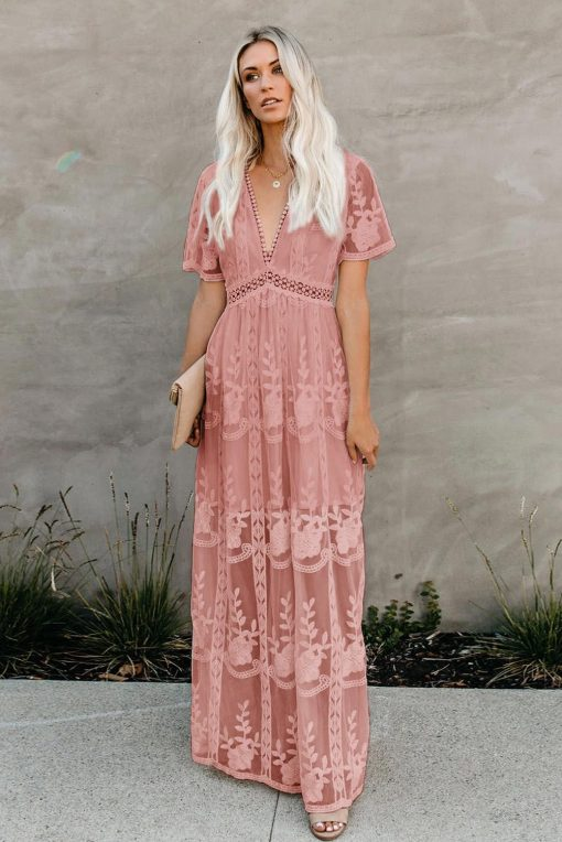váy maxi ren đẹp